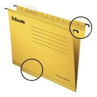 Teczka zawieszkowa ESSELTE Pendaflex żółta opakowanie 25 sztuk