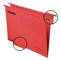 Teczka zawieszkowa ESSELTE Pendaflex  czerwona opakowanie 25 sztuk