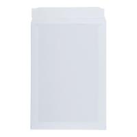 Koperty wzmacniane kartonem B4, 256x356 mm, białe, 10 sztuk
