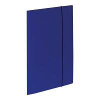 Teczka kartonowa VAUPE z gumką A4 niebieska
