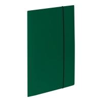 Teczka kartonowa VAUPE z gumką A4 zielona