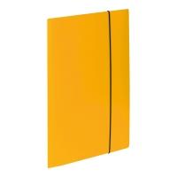Teczka kartonowa VAUPE z gumką A4 żółta