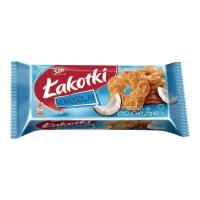 Ciastka SAN ŁAKOTKI kokosowe, 168 g