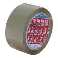 Taśma pakowa tesa 4263 z kauczuku naturalnego, 66 m x 48 mm, brązowa, 1 sztuka
