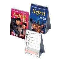 Kalendarz biurkowy DAN-MARK Nefryt A5, pionowy