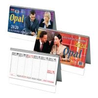Kalendarz biurkowy DAN-MARK Opal, 29x13,9cm, poziomy