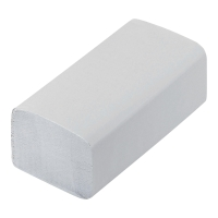Ręcznik papierowy biały, w opakowaniu 20 x 200 listków