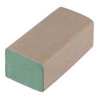 Ręcznik papierowy zielony, w opakowaniu 20 x 200 listków