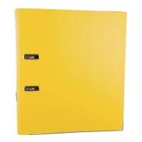 Segregator LYRECO Budget z mechanizmem A4 50 mm, żółty