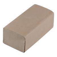 Ręcznik papierowy szary, w opakowaniu 20 x 200 listków