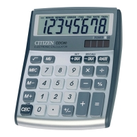 Kalkulator nabiurkowy CITIZEN CDC 80, srebrny
