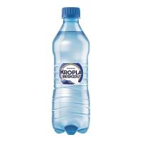 Woda mineralna KROPLA BESKIDU gazowana, w opakowaniu 12 x 0,5 l