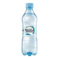 Woda mineralna KROPLA BESKIDU niegazowana, w opakowaniu 12 x 0,5 l