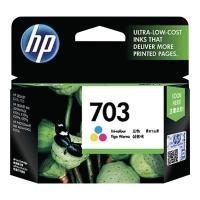Tusz HP 703 CD888AE kolorowy CMY