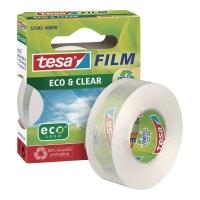 Taśma klejąca TESA Film® Eco&Clear, 19 mm x 33 m