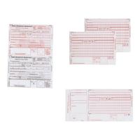 Druk   Potwierdzenie przelewu  , dwa odcinki, A6, 60 kartek