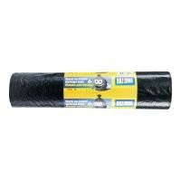 Worki na śmieci LDPE, 120 l, czarne, 25 sztuk