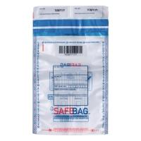 Koperty bezpieczne BONG SAFEBAG K70, przezroczyste, w opakowaniu 100 sztuk