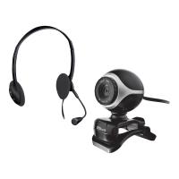 Zestaw kamerka + słuchawki z mikrofonem Trust