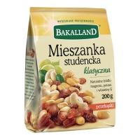 Mieszanka bakaliowa BAKALLAND Studencki Mix, 200 g