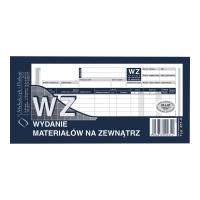 Druk MI&PRO WZ Wydanie materiału na zewnątrz, 1/3 A4 (wielok) 80k