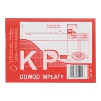 Druk MI&PRO KP Dowód wpłaty A6 (wielokopia) 80 kartek