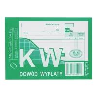 Druk MI&PRO KW Dowód wypłaty A6 (wielokopia) 80 kartek