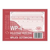 Druk MI&PRO Polecenie przelewu/wpł. got. A6 (o+3k) miękkie, 80 kartek