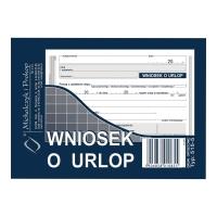 Druk MI&PRO Wniosek o urlop A6 (offset) 40 kartek