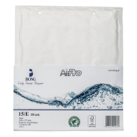 Koperty bąbelkowe AirPro® BONG 15/E białe, w opakowaniu 10 sztuk