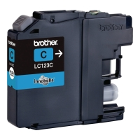 Cartridge BROTHER LC123C, OEM, cyan