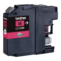 Cartridge BROTHER LC123M, OEM, magenta