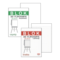 Blok do flipcharta DAN-MARK gladki, 50 kartek