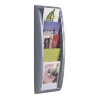 Prezenter folderów PAPERFLOW A5, srebrny