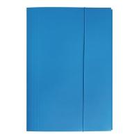 Teczka kartonowa BIGO z gumką A4 niebieska