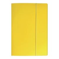 Teczka kartonowa BIGO z gumką A4 żółta