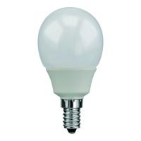 Świetlówka fluorescencyjna E14, 9W, kula