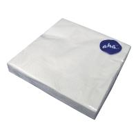 Serwetki HANKE TISSUE, AHA, wymiary 33x33cm, białe opakowanie 20 sztuk