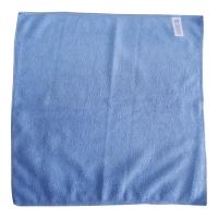 Ścierka z mikrofazy, niebieska, 40 x 40 cm, 220 g