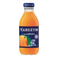 Sok pomarańczowy TARCZYN, 0,3 l, 15 butelek