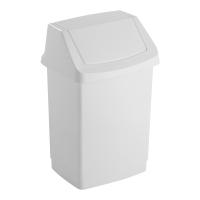 Kosz uchylny CURVER, biały, 50 litrów