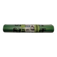 Worki LDPE do selektywnej zbiórki odpadów 120 l, zielone, 10 sztuk