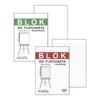 Blok do flipcharta DAN-MARK kratka, 50 kartek