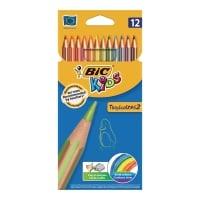 Kredki BIC Kids Tropicolors, 12 kolorów