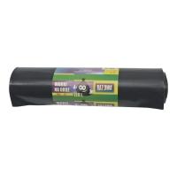 Worki na śmieci LDPE na odpady remontowe 120 l, czarne, 10 sztuk