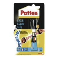 Klej w tubce PATTEX S.O.S. Power Gel, 2 g