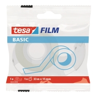 Taśma biurowa TESA BASIC 33 m x15 mm + dyspenser