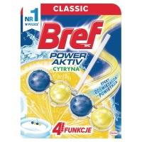 Kulki do toalet BREF Power Activ, 50 g, cytrynowe