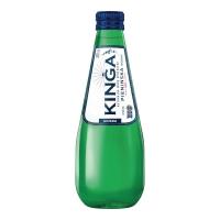 Woda mineralna KINGA PIENIŃSKA gazowana, 24 szklane butelki x 0,33 l