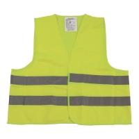 Kamizelka ostrzegawcza VERA, żółta, rozmiar M/XXL